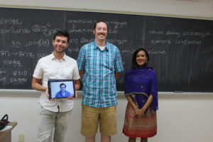 Elementary Tamil class with distance learner