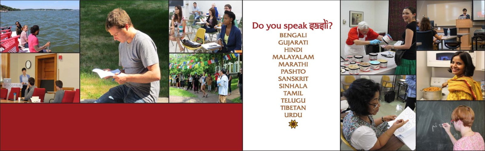 South Asia Summer Language Institute – Hosted at the