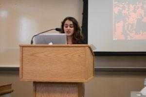 Elementary Urdu Student Presenter