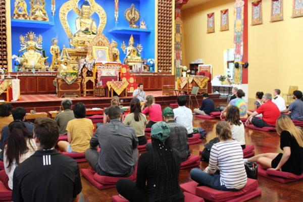 SASLI visit to Deer Park Buddhist Center