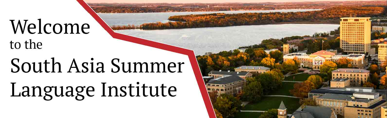 Welcome to the South Asia Summer Language Institute