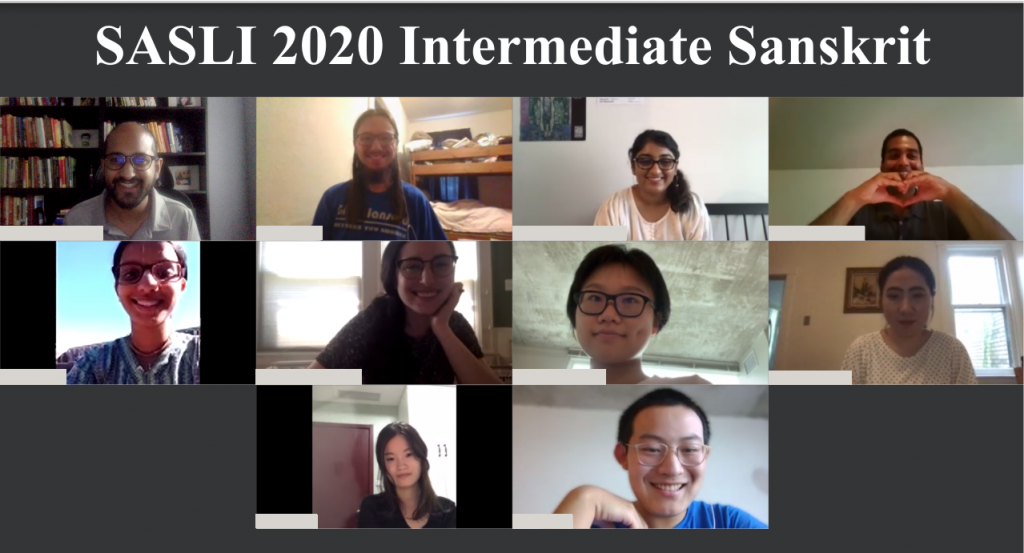 SASLI 2020 Intermediate Sanskrit Class